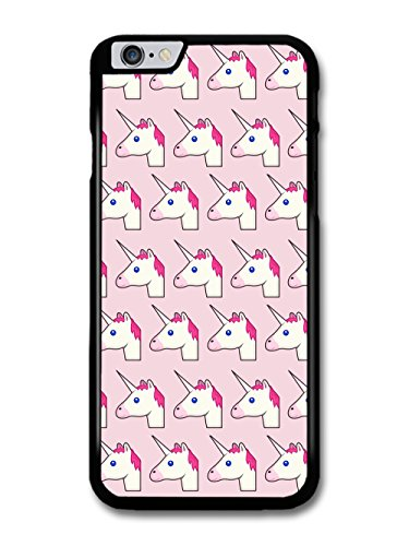 Unicorn Emoji Pattern on Pink Grunge Goth Hipster Cool Funny Cute case for iPhone 6 Plus 6S Plus