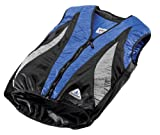 HyperKewl Evaporative Cooling PEAK Cycling Vest, Blue/Silver/Black, X-Small