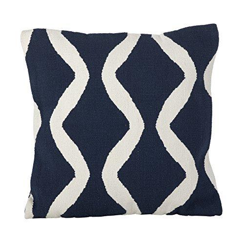 SARO LIFESTYLE Kilim Turkish Design Pattern Cotton Down Filled Throw Pillow 20