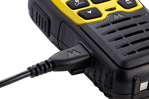 Midland - X-TALKER T61VP3, 36 Channel FRS Two-Way Radio - Up to 32 Mile Range Walkie Talkie, 121 Privacy Codes, NOAA Weather Scan + Alert (Pair Pack) (Black/Yellow) by Midland (Image #7)