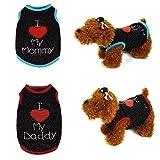 Mikey Store 2017 Pet Dog Vest Fashion Costume Puppy Apparel
