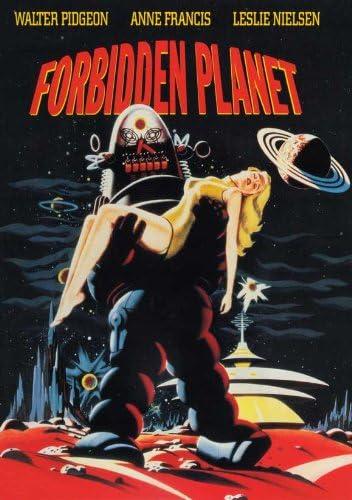 Image result for forbidden planet poster