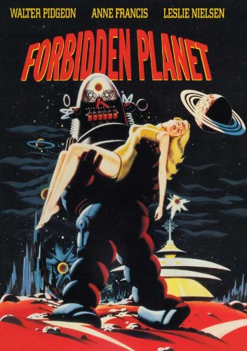 Forbidden Planet 27 x 40 Movie Poster - Style D