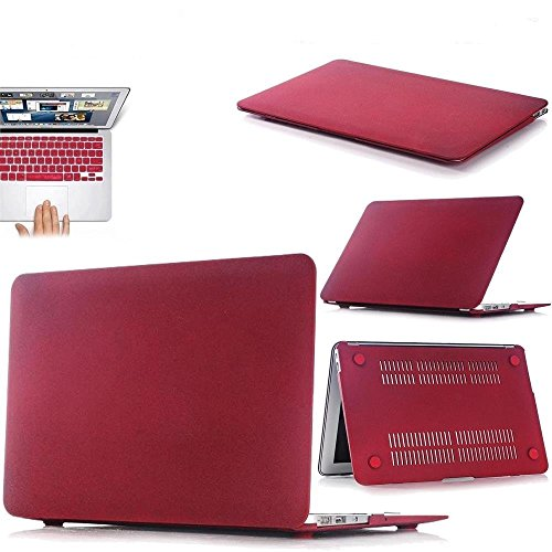 Macbook Air 11 Inch Case, iTrendz Hard Case Cover With Ke...