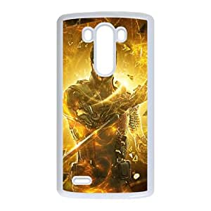 Deus E Human Revolution LG G3 Cell Phone Case White 53Go-142119