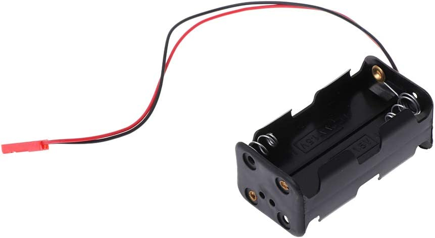 LyGuy Battery Container Case JST Plug for HSP 02070 AA RC 1//10 1//8 Nitro Power Car Gift For Kids