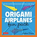 Origami Airplanes Fun Pack: [Origami Kit with Book, 48 Papers]