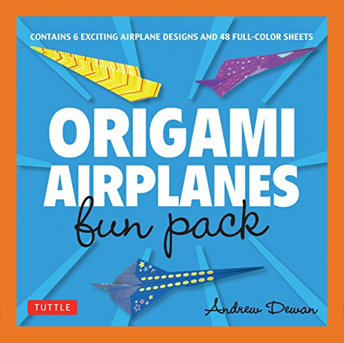 Origami Airplanes Fun Pack: Make Fun and Easy
