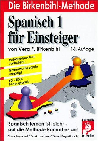 Spanisch für Einsteiger, 3 Cassetten, 1 CD-Audio u. Begleitbuch