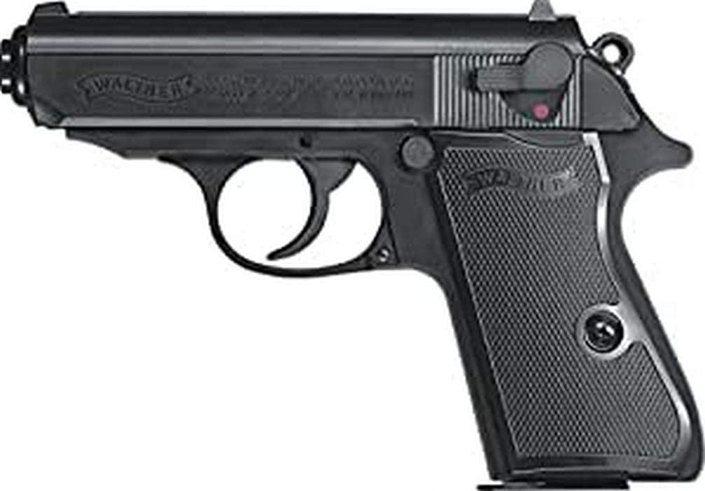 Walther PPK/S Pistola Airsoft, Unisex Adulto, Negro, Talla única