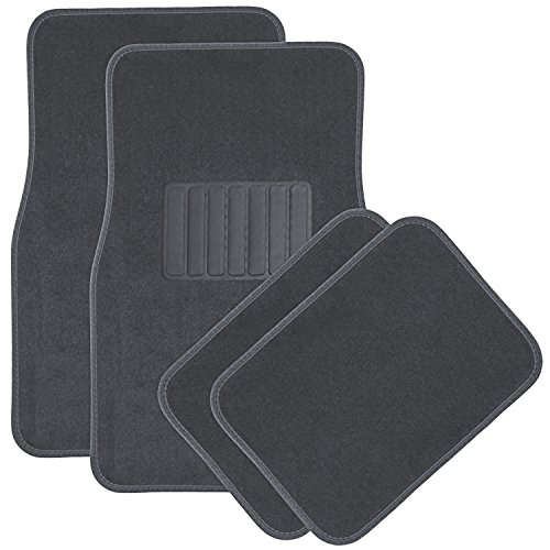 OxGord Light Gray Floor Mats