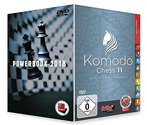 Komodo Chess 11 with Powerbook 2018 by ChessBase