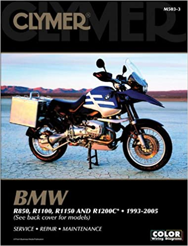 clymer bmw r850, r1100, r1150 and r1200c, 1993-2005 (clymer color wiring  diagrams): amazon co uk: clymer publications: 9781599690407: books