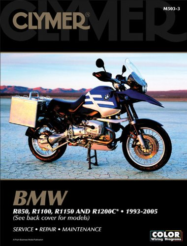 BMW R850, R1100, R1150 & R1200C, 1993-2005 Clymer Repair Manual M503-3