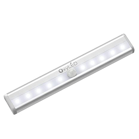 Qualified New 5 Led Wall Light Push Touch Tap Night Light Kitchen Closet Under Cabinet Wardrobe Night Lamp Battery Power Bright 2018 Be Friendly In Use Lights & Lighting