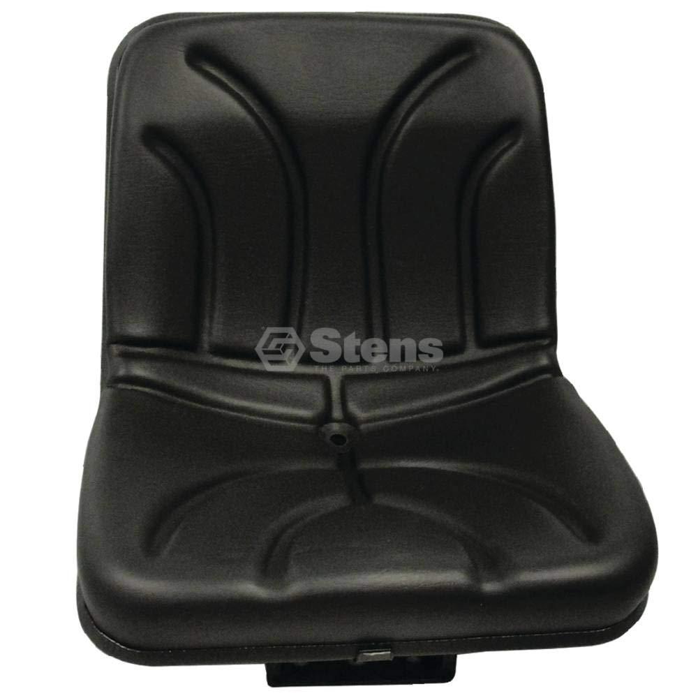 Stens Seat for Compact flip, black vinyl