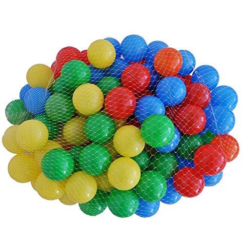1000 Stück Bällebad - verschiedene Farben