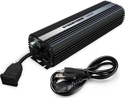 1000W Dimmable Digital Ballast, HPS & MH Supported, XTRAHYDRO Horticulture AUF1000 Watt Hydroponic Electronic Ballast for Grow Light by XTRAHYDRO