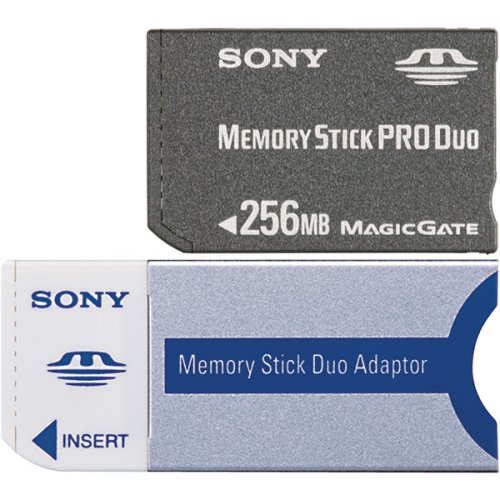 (Sony 256 MB Memory Stick PRO Duo Flash Memory Card)