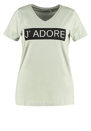 c02740a37ef1d7 Zizzi Damen T-Shirt Print Gr. S  Amazon.de  Bekleidung