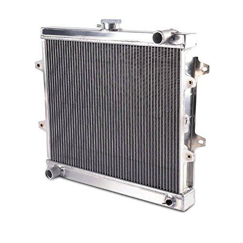 Toyota Pickup Heater Core - ALLOYWORKS Aluminum Radiator for 1984-1995 1994 Toyota Pickup 4 RUNNER DLX Base SR5 2.4L MT