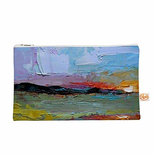"KESS InHouse Carol Schiff ""Hues"" Multicolor Painting Ever..."