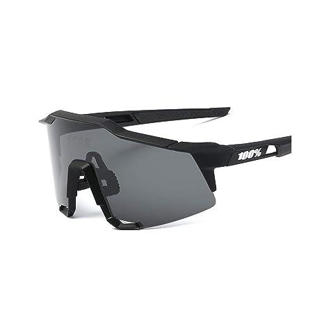 miglior servizio d38d0 38be2 LiféUP Occhiali da Sole Sportivi Polarizzati, CrazyFire Anti-UV 400  Protezione Ciclismo Occhiali da Sole, Uomo e Donna Antivento Aviatore  Specchio per ...