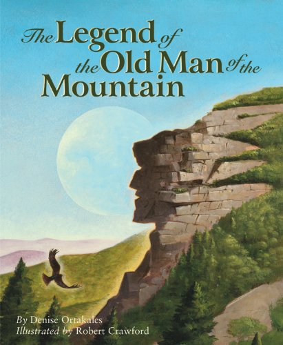 The Legend of the Old Man of the Mountain (Myths, Legends, Fairy and - Village Legends West
