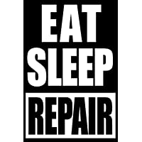 Eat Sleep Repair | Gift Notebook for Agricultural
