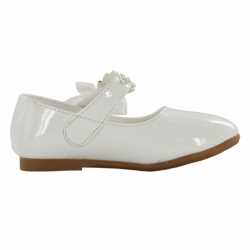 Maxu Little Girl Ballet Mary Jane Shoe,White,Little Kid,11M by Cixi Maxu E-Commerce.Co.Ltd (Image #4)