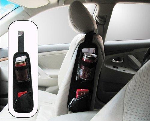 Waterproof Fabric Car Auto Vehicle Seat Side Back Storage Pocket Backseat Hanging Storage Bags