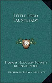Book Little Lord Fauntleroy