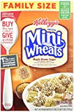 Kellogg's Frosted Mini Wheats Bite Size Maple Brown Sugar 21-ounce (Pack of 4)