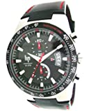 Lip - 1059712 - Montre Homme - Quartz analogique - Bracelet en Cuir noir