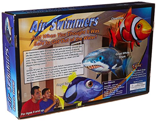 Shark Toys And Games : Air swimmer inflatable flying shark replacement balloon