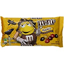 M&M's Halloween Peanut Chocolate Candy, 12.60-Ounce (Pack of 6)