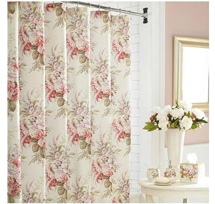J Queen Rosemoor Shower Curtain