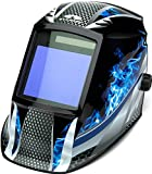 Pyramex Safety WHAM3030FM Leadhead Auto Darkening Welding Helmet, Fire Metal