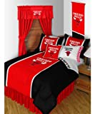 11pc NBA Chicago Bulls Twin Bedroom Set