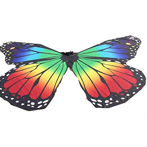 DEMON BABY Performance Costumes Children's Exotic Rainbow Butterfly Belly Dance ISIS Wings -