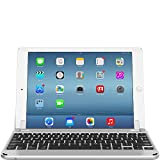Brydge 9.7 Bluetooth Backlit Aluminum Keyboard for iPad Air, iPad Air 2 & iPad Pro 9.7-inch - Silver