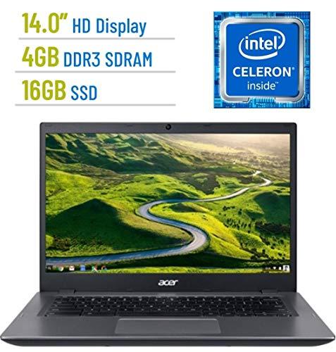 (Acer Chromebook 14.0-inch LED HD (1366x768) Display, Intel Celeron 3855u, 4GB LPDDR3, 16GB eMMC SSD, HDMI, Bluetooth, 802.11a Wifi, Google Chrome OS (Renewed))