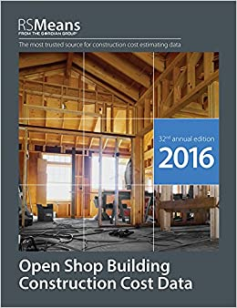 RSMeans Open Shop BCCD 2016 (RSMeans Open Shop Building Construction Cost Data)