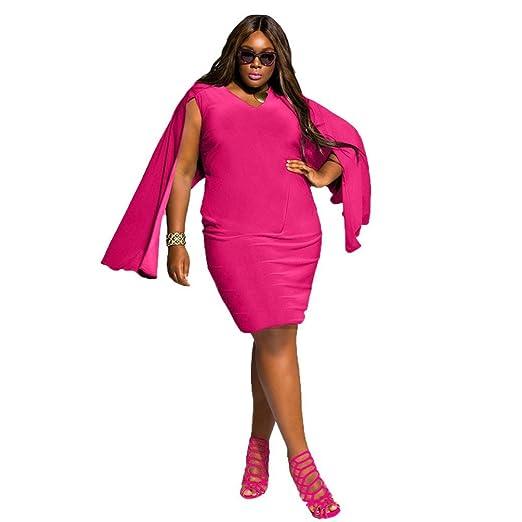 Amazon Overmal Women Plus Size Sleeveless V Neck Fake Sleeve
