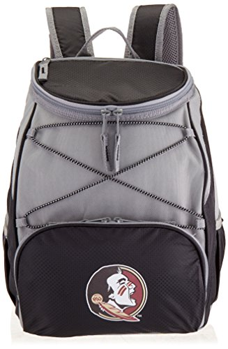 PICNIC TIME NCAA Florida State Seminoles PTX Insulated Backpack Cooler, Black ()