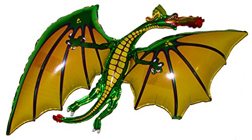 Award Winning 36 GREEN DRAGON Anti-Gravity Balloons Hover & Drift in Mid-Air with NO STRINGS ATTACHED! FUN for all Ages! Includes Weights for Easy Height Control. The HIT of your GOT PARTY!