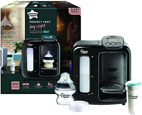 Tommee Tippee Perfect Prep Day and Night and Complete Feeding Set Black