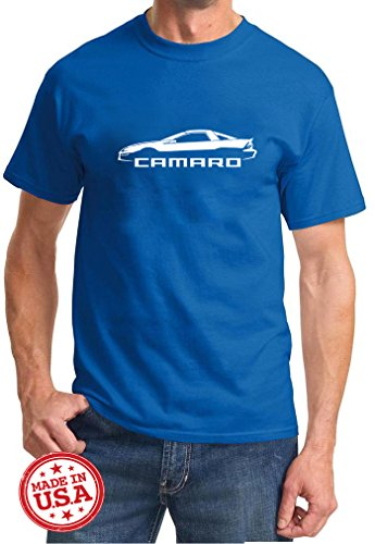 1998-02 Camaro Coupe Classic Outline Design Tshirt 2XL -