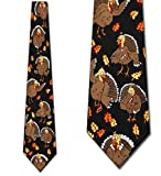 Thanksgiving TIES Turkeys Neckties