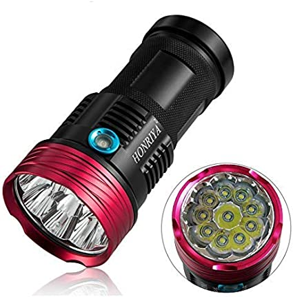 Super bright multi function bike light batteries included 100 yard range